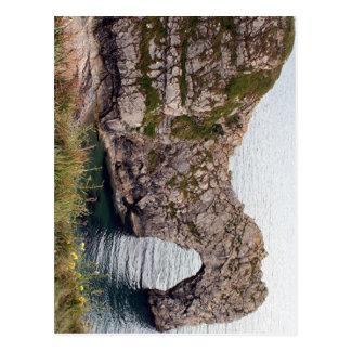 Durdle Door Arch, Dorset, England Postcard
