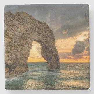Durdle Door Jurassic Coastline| Dorset, England Stone Coaster
