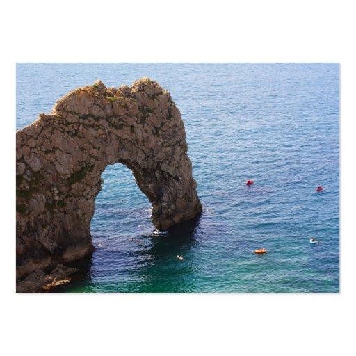 Durdle door seascape , UK Business Cards