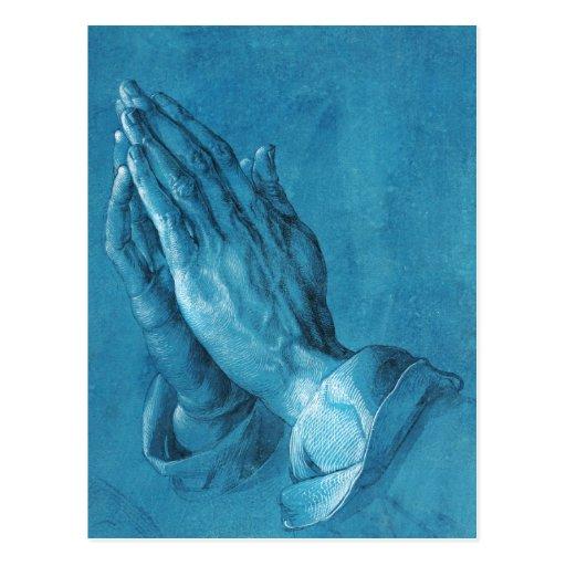 Durer Praying Hands Postcard