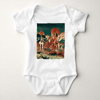 Durga and Kali Baby Bodysuit
