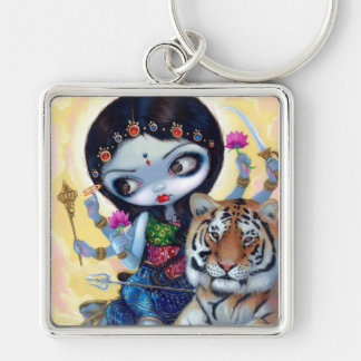 """""""Durga and the Tiger"""" Keychain"""