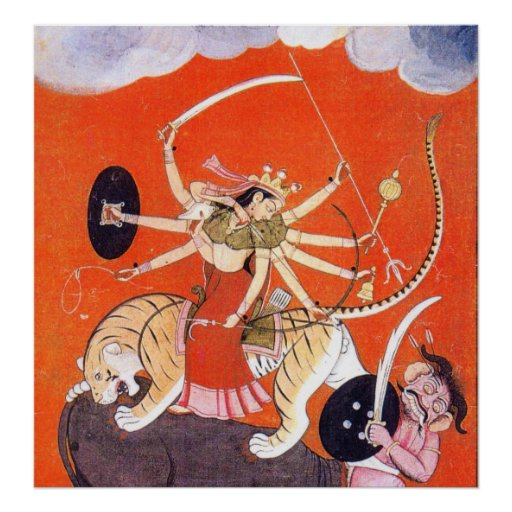 Durga Poster