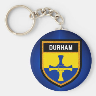 Durham Flag Key Ring