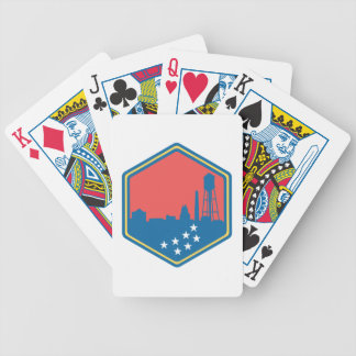 Durham, NC Bicycle Playing Cards