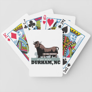 Durham NC Bull Bicycle Playing Cards