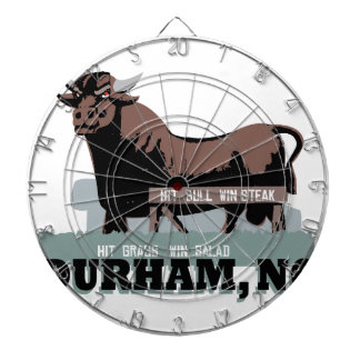 Durham NC Bull Dartboard