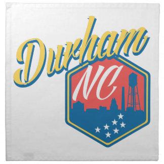 Durham, NC Napkin