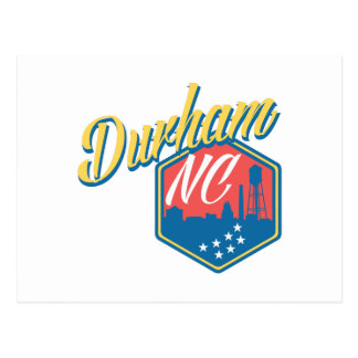 Durham, NC Postcard