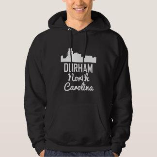 Durham North Carolina Skyline Hoodie
