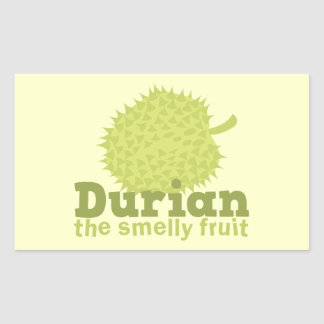 Durian the Smelly Fruit (from South east Asia) Stickers