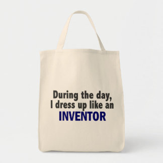 During The Day I Dress Up Like An Inventor