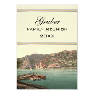 Dürnstein, Austria Family Reunion 13 Cm X 18 Cm Invitation Card