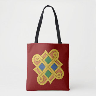 Durrow Knotwork 2016 Tote Bag