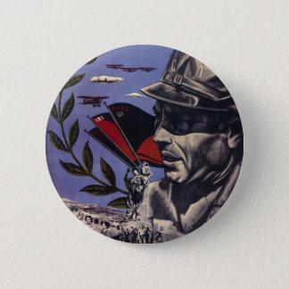 Durruti spanish civil war original poster 1936 FAI 6 Cm Round Badge