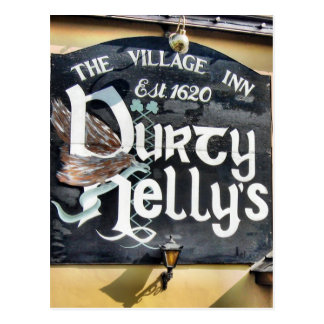 Durty Nelly's Pub Postcard