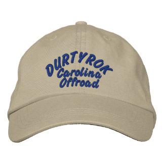Durtyrok Adj Hat Blue Font Embroidered Hat