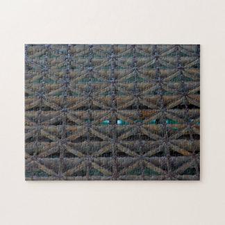 Dusable Bridge Abstract Jigsaw Puzzle
