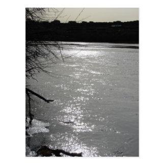 Dusk at the Rio Grande Postcard