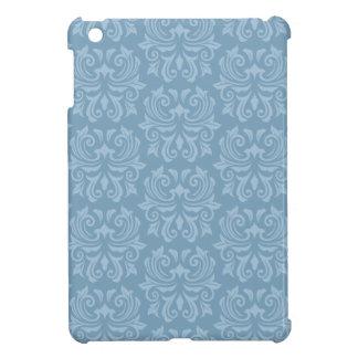 Dusk blue lace damask pattern trendy fashionable iPad mini cases