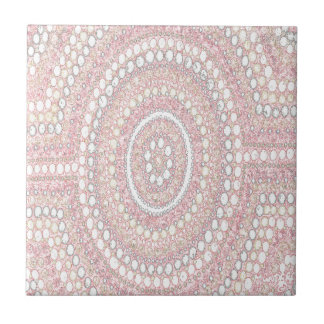 Dusk Corroboree Ceramic Tile