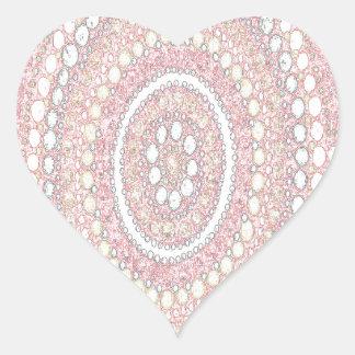 Dusk Corroboree Heart Sticker