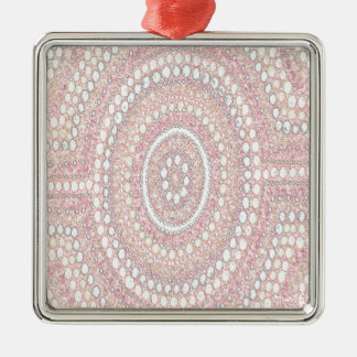 Dusk Corroboree Metal Ornament