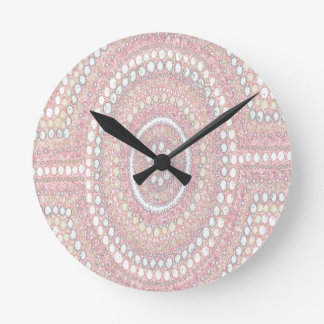 Dusk Corroboree Round Clock