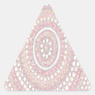 Dusk Corroboree Triangle Sticker