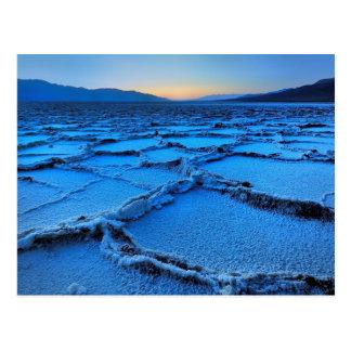 dusk, Death Valley, California Postcard