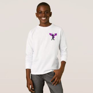Dusk Dragon HEROIC Kid's Long Sleeve T-Shirt