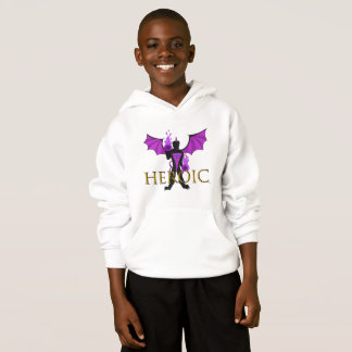 Dusk Dragon HEROIC Kid's Sweatshirt