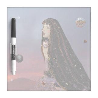 Dusk Goddess Dry Erase Board