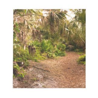 Dusk in Florida Hardwood Hammock Notepad