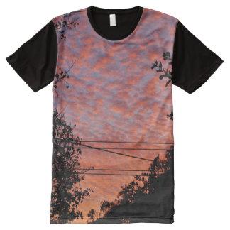 Dusk in Nerang All-Over Print T-Shirt