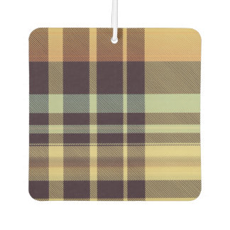 Dusk Plaid Car Air Freshener