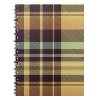 Dusk Plaid Notebook