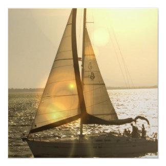 Dusk Sailing  Invitations