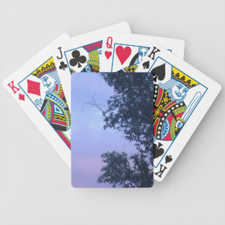 Dusk Sky Bicycle Playing Cards