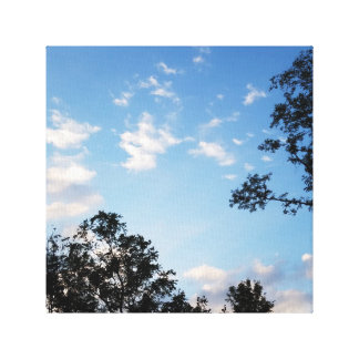 Dusk Sky Canvas Print