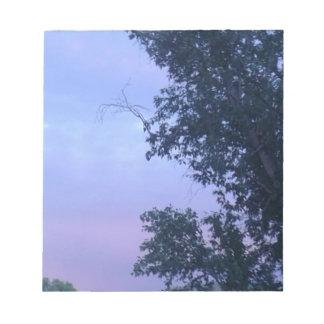 Dusk Sky Notepad