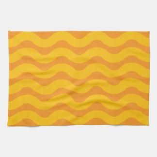 Dusk tide tea towel