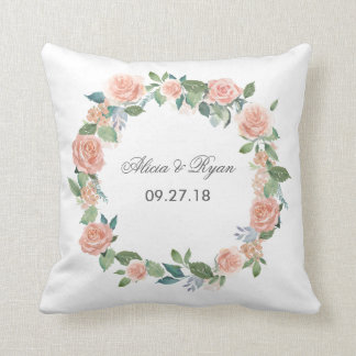 Watercolor Wedding Cushions Watercolor Wedding Scatter