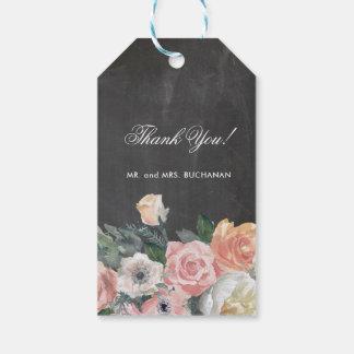 Dusk Watercolor Flower | Tags