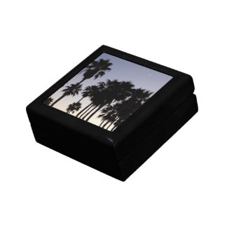 Dusk with Palm Trees Tropical Scene Gift Box