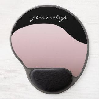 Dusky Pink Gradient Gel Mouse Pad
