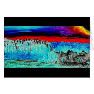 Dusky Waves 2 Card
