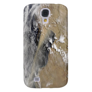 Dust blows off the coast of Libya Samsung Galaxy S4 Covers