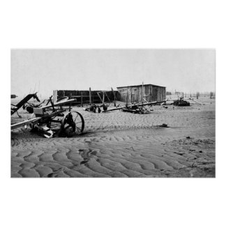 Dust Bowl 1935. Poster