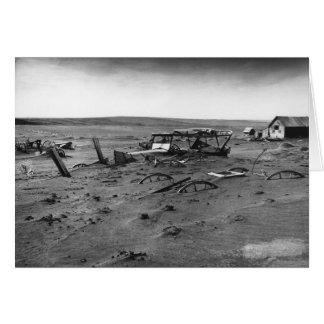 Dust Bowl Dallas South Dakota 1936 Card